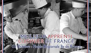 apprenti cuisine meilleur apprenti cuisinier de maîtres cuisiniers de