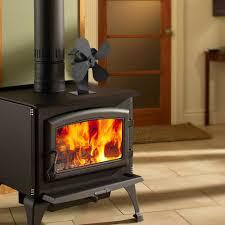 4 Blades Home Fireplace Fan Efficient Heat Distribution Sales Online