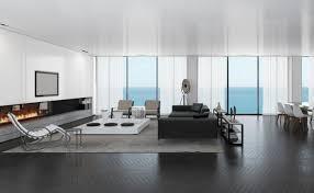 minimalismus im wohnzimmer symbolisch für modernes einrichten