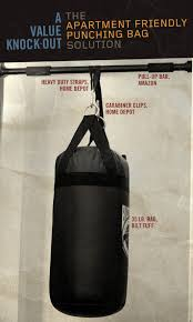 Everlast Heavy Bag Ceiling Mount by How To Make A Punching Bag Apartment Friendly Primer