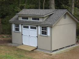 AMISH BUILT 10x16 A FRAME GARDEN WOOD STORAGE SHED WITH DORMER