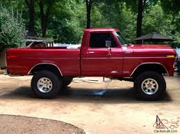 100 1978 Ford Truck For Sale FORD F150 FULLY RESTORED RED TRUCK 4X4 SHORT WHEEL BASE REG CAB