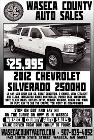 2012 Chevrolet Silverado 2500HD, Waseca County Auto Sales, Waseca, MN 2013 Ram Pickup 1500 26995 Waseca County Auto Sales Mn Good Humor Wikipedia Lea Michele Guest Stars As A Single Mother Who Works At Truck Stop 1500hp Diesel Truck 9 Second 14 Mile Youtube State Street Stop Lifter Pro Tms For Carriers Gmc Yukon 2014 Justagoodguytoknow Instagram Hashtag Photos Videos Piktag Parked The Night Editorial Stock Photo Image Of Rigs 109445803 911 Witnses The King St Bomb Signage On Inrstate 90 In Eastern Washington State View Getting To Know West Columbias And Meeting