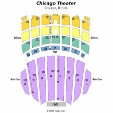 26 new Chicago Theatre Seat Map – swimnova