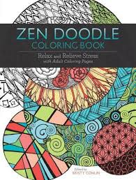 Zen Doodle Coloring Book Relax And Relieve Stress With Adult Pages
