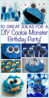 Cookie Monster Party Ideas For An Impressive DIY Birthday