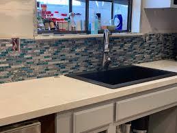 40 stück 6 x 3 weiß art3d backsplash glasfliesen für küche