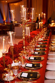 Stunning Red And Gold Weddings Images