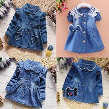 Image Is Loading Toddler Baby Girls Princess Party Dress Denim