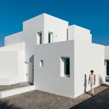 100 Concrete Residential Homes Santorini House By Kapsimalis Architects Made Of White Blocks