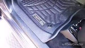 Maxpider Floor Mats Canada by Maxdura Floor Liners Review For 2016 Ram Crew Youtube