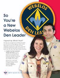 Cub Scout Committee Chair Patch Placement by So You U0027re A New Webelos Den Leader Pdf Leader Resources