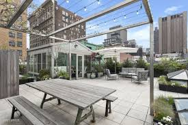 100 Tribeca Roof A Sunroom Turns The Private Roof Deck Atop This 34M