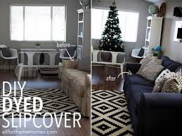 Karlstad Sofa Cover Uk by How To Dye A Sofa Slipcover