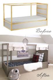 Ikea Mandal Dresser Hack by Best 25 Ikea Bed Hack Ideas On Pinterest Ikea Kura Kura Bed