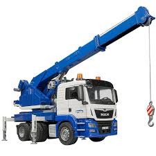 100 Bruder Trucks MAN TGS Crane Truck With Light Sound Educational Toys Planet