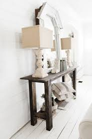 Narrow Sofa Table Behind Couch by Best 25 Small Console Tables Ideas Only On Pinterest Small Hall