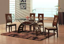 Glass Dining Room Furniture Full Size Of Table Set Height