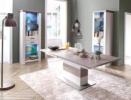 esszimmer eppan 43 pinie weiss nb 3 teilig säulentisch ausziehbar