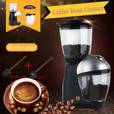 Image Is Loading Electric Automatic Coffee Bean Mill Grinder Maker Machine