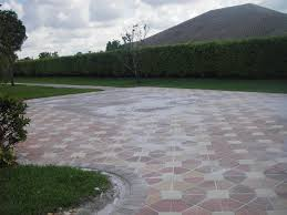 Installing 12x12 Patio Pavers by Completed Projects America Pavers Contractors Inc