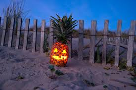 Pumpkin Patch Naples Fl 2015 by How To Turn A Pineapple Into A Halloween U0027pumpkin U0027 Mental Floss