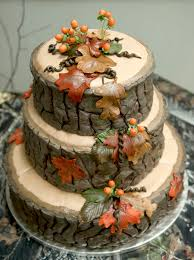 38 Woodland Wedding Cakes That Will Complete Your Fairytale