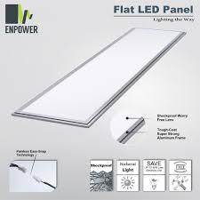 nlco 1 x4 warm white light 2800 3200k led panel light for