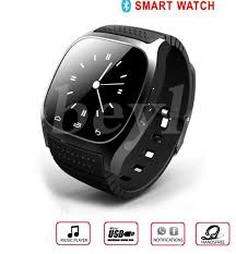 2016 Bluetooth Smart Watches M26 for IPhone 6 6S Samsung S5 S4