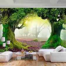 vlies fototapete wald natur herbst 3d effekt tapete wandbilder wohnzimmer