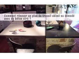 comment repeindre un plan de travail de cuisine vidéo d application de béton ciré sur un plan de travail stratifié