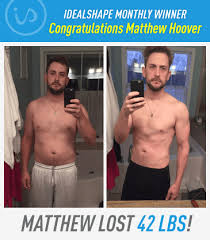 Matthew Set Out To Lose 10 Lbs And Shed 42 Instead