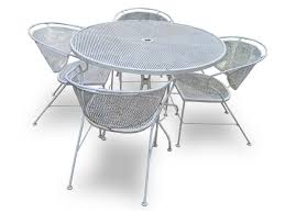 Salterini Iron Patio Furniture by Vintage Patio Furniture Mid 70 U0027s Early 80 U0027s Wrought Iron Just