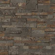 mini ledgestone rustic sidewall wallpaper for sale at walmart