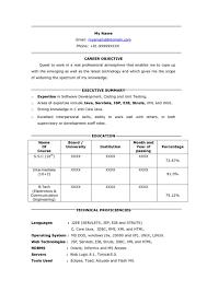 Resume Sample: Five Top Risks Of Attending Sample Resume For ...