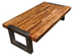Butcher Block Coffee Table Stunning Sets On Glass Top