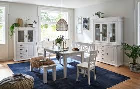 landhaus esszimmer tallin buffet mit 3 glastüren 154 2x47x199 8 cm