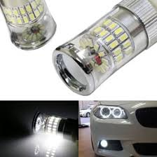 X Bright High Power LED Bulbs w Diffusion Mirror For Fog Lights DRL