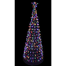Slim Pre Lit Multicolor Christmas Tree by Big Christmas Tree Lights Christmas Lights Decoration