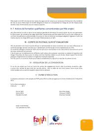 convention cadre national fafih pôle emploi