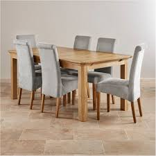 Lovely Edinburgh Extending Dining Set In Oak Table 6 Chairs Tufted Awesome Ideas