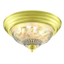 Home Depot Ceiling Lights Flush Mount by Hampton Bay 2 Light Polished Brass Flushmount Hb1047 01 The Home