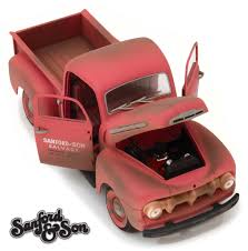 100 Sanford And Son Pickup Truck 1952 Ford F1 Tv Series 118 Diecast