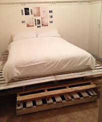 Diy Pallet Twin Bed DIY Twin Bed Made From Pallets