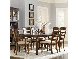 Seven Piece Dining Room Set by Standard Furniture Charleston Traditional Seven Piece Leg Table