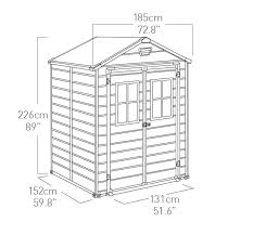 Keter Manor 4x6 Storage Shed by 9 Keter Manor Shed Instructions Manor Large Resin Outdoor