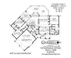 Harmonious Mountain Style House Plans by Harmony Mountain Cottage Hous Plan 06110 1st Floor Plan Mountain