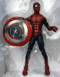 Civil War Spider Man Marvel Legends Figure In Bubble