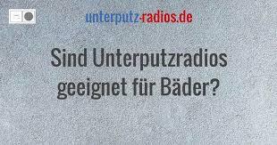 sind unterputzradios geeignet für bäder unterputz radios de