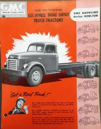 1952 GMC Gas Series HCW 720 Truck Tractor Sales Brochure Data Sheet Orig 1951 Gmc Pickup For Sale Near Cadillac Michigan 49601 Classics On Gmc 1 Ton Duelly Farm Truck Survivor Used 15 100 Longbed Stepside Pickup All New Black With Tan Information And Photos Momentcar Gmc 150 1948 1950 1952 1953 1954 Rat Rod Chevy 5 Window Cab Sold Pacific Panel Truck 2017 Atlantic Nationals Mcton New Flickr Youtube Cargueiro Caminho Reboque Do Contrato De Imagem De Stock
